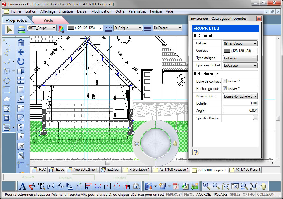 Envisioneer architecture le bim rapide simple et intuitif for Logiciel dessin 3d simple