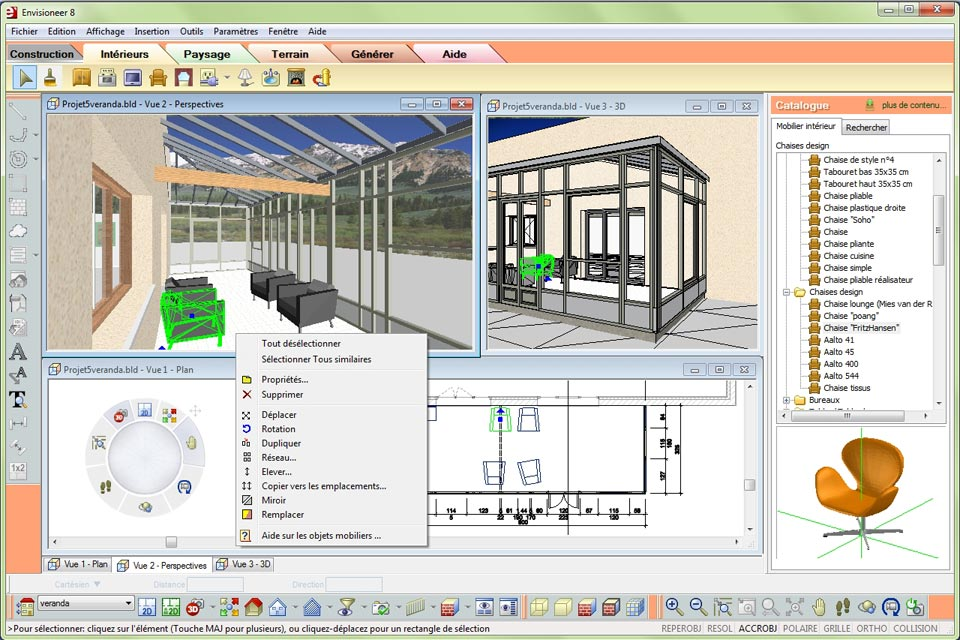 Envisioneer esquisse la conception 3d accessible tous for Logiciel architecture en ligne