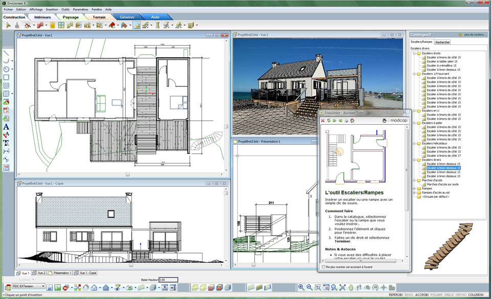 Envisioneer architecture le bim rapide simple et intuitif for Logiciel de construction 3d