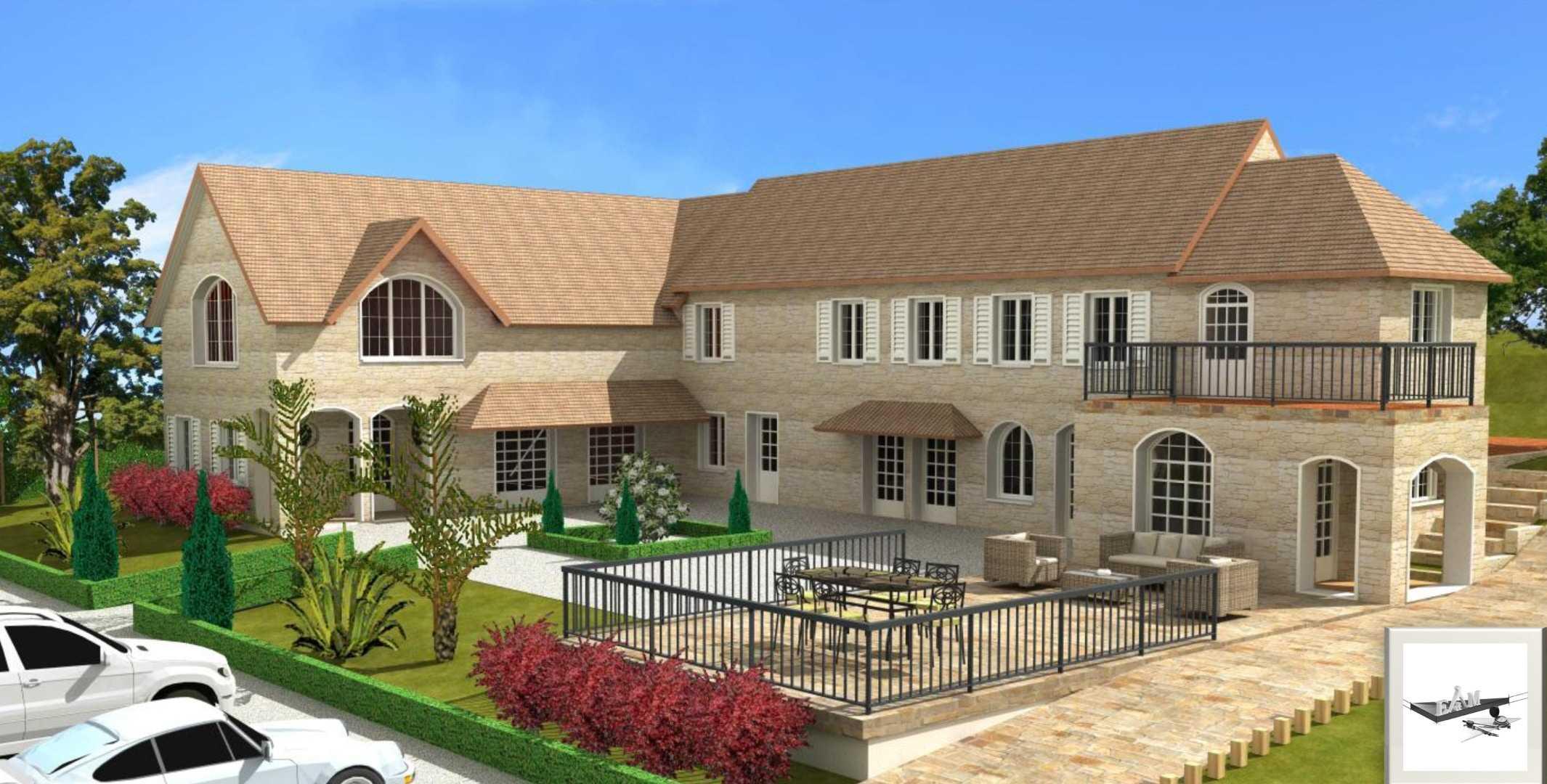 Transformation et agrandissement d'une demeure normande de standing