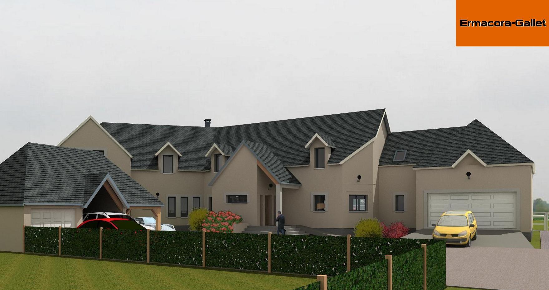 Projet de maison individuelle situé dans l'Eure