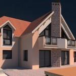 Projet de maison individuelle insérée sur son terrain