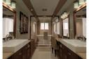 Salle de bains aménagée sur mesure