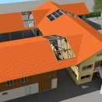Transformation d'une ferme alsacienne en logements