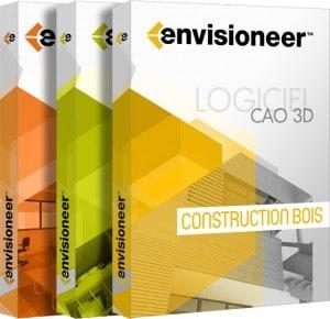 boites DVD Envisioneer - Logiciel CAO 3D