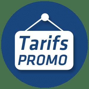 Promotion sur les tarifs