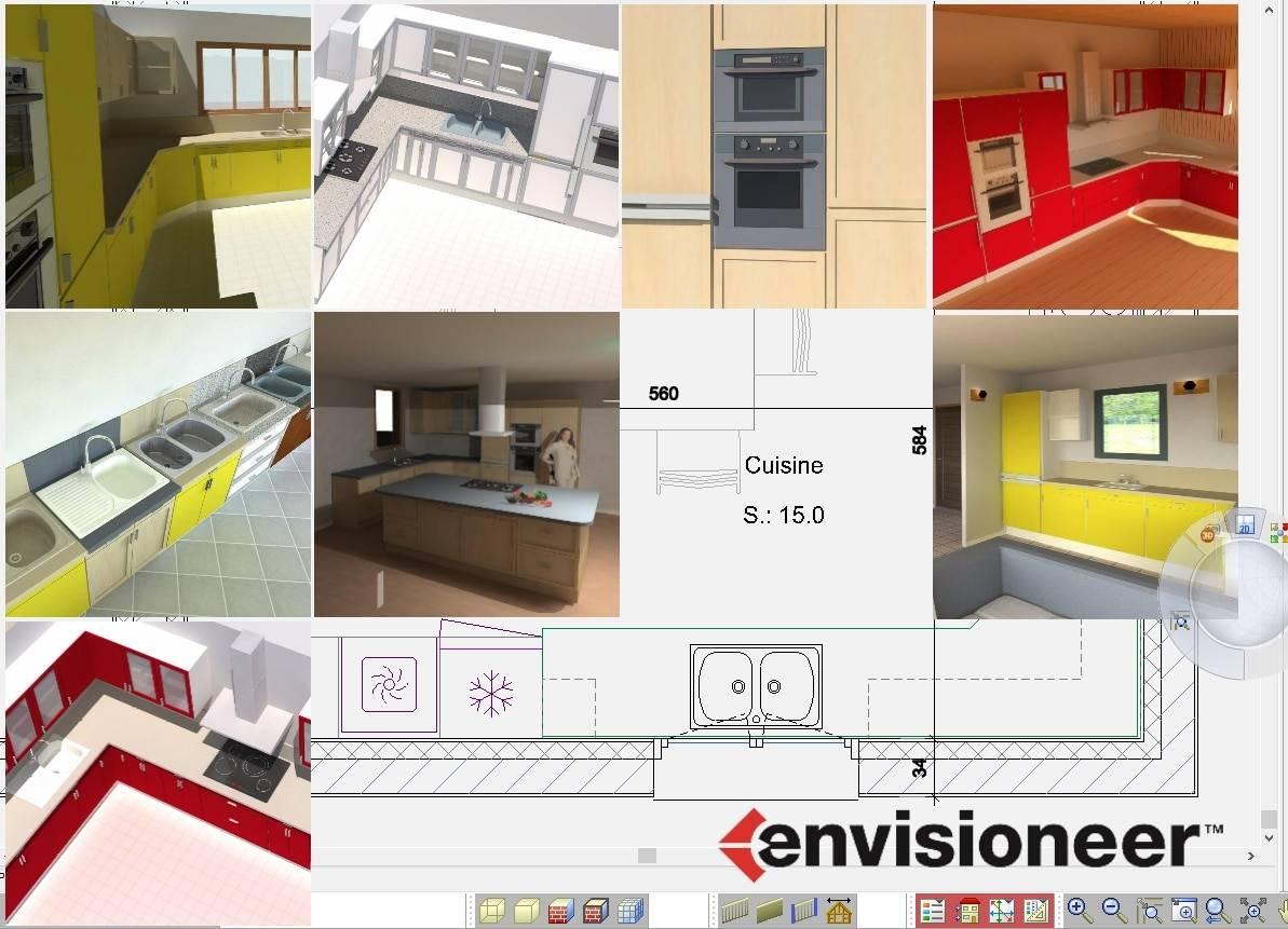 Nouveaux styles pour les cuisines aménagées